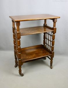 Oak Liberty Arts & Crafts Wyburd Book Table C1900 - Antiques Atlas Book Table, Liberty Furniture, Arts And Crafts Movement, Antique Books, Home Furnishings, Oriental, Carpet, Contemporary, Antiques