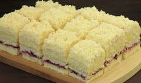 Łabędzi puch - przepisy z myTaste Polish Desserts, Polish Recipes, Dessert Cake Recipes, Cookie Recipes, Delicious Desserts, Yummy Food, Sweet Cakes, Homemade Cakes, My Favorite Food