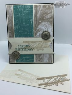Stamps-N-Lingers. Sky is The Limit stamp set (2016 Occasions) and Going Places (Occasion) and Perfectly Artistic DSPs (2016 SAB). http://stampsnlingers.com/2016/01/08/stampin-up-going-place-sky-high-birthday/