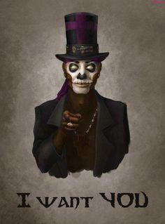 Voodoo Baron Samedi (Lord of the Dead)