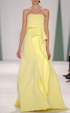 Carolina Herrera Spring/Summer 2015 Trunkshow Look 10 on Moda Operandi