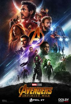 Avengers: Infinity War Dolby Cinema Poster