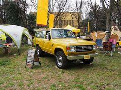 ランクル60 北米モデル 左ハンドル ペンドルトンコラボカスタムデモカー 【東京アウトドアフェスティバル】出展しました PENDLETON custm : Toyota Landcruiser60 FJ62LG