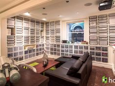 This guy has the most insane Lego collection in his basement What does it look like to own 250,000 Lego bricks? Take a tour of a US architect's basement complete with custom-built shelves and IKEA bins to hold and display his massive Lego collection.