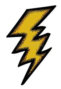 deze bliksem staat voor energiek, ik ben altijd energiek en ik werk hard