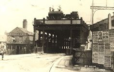 High Level Bridge, Newcastle upon Tyne c.1885 by Newcastle Libraries, via Flickr