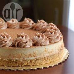 Cheesecake de tiramisu @ allrecipes.com.br