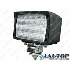 39W 12 Volt LED ATV Work Lights 46 6000K RoHS IP67 Quakeproof can