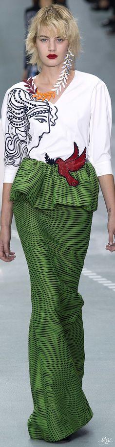 Spring 2017 Ready-to-Wear Mary Katrantzou