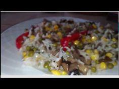 Orez (basmati) la Tigaie cu Ciuperci şi Legume - YouTube Grains, Rice, Youtube, Food, Eten, Seeds, Meals, Korn, Diet