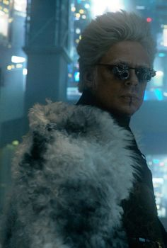 "The Collector played by Benicio Del Toro. Introduced in the 2013 film ""Thor: The Dark World."""