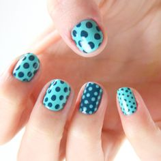 Seeing Spots Nasty Nails >> Love the polka dots!