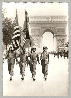 1944- Libération de Paris par les Alliés