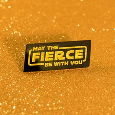 The Fierce is strong with this one. gold plated hard enamel pin with 2 black rubber clutches Own all three parts of this special edition trilogy: Droid pin / Darth Daddy pin. Star Wars Jacket, Hard Enamel Pin, Black Rubber, Plating, Clutches, Rock, Friends, Products, Accessories