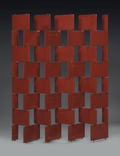 design-is-fine: Eileen Gray, Brick Screen,. Metal Screen Doors, Diy Screen Door, Diy Door, Eileen Gray, Lock Screen Wallpaper Iphone, Grey Brick, Window Planter Boxes, Grey Furniture, Antique Furniture