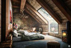 Stylish Interior Design  Rustic cabin by Fernando Morrisoniesko   Behance