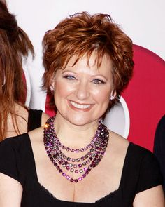 Caroline Manzo, she says it like it is and just full of love. I want an Italian mother-in-law like her one day!!!