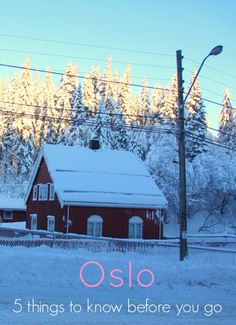 Oslo-5 things to know before you go the traveloguer travel blog