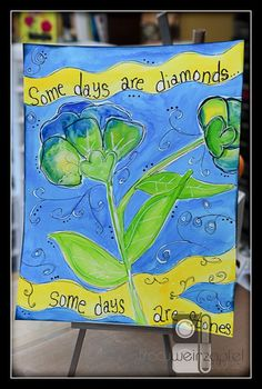 Some Days are Diamonds by Tracy Weinzapfel