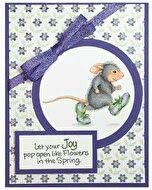 House Mouse Stamps, Easel Cards, House Of Cards, Beatrix Potter, Copic Markers, Colored Pencils, Applique, Kids Rugs, Joy