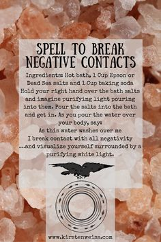 A Little Salt with that Spell?