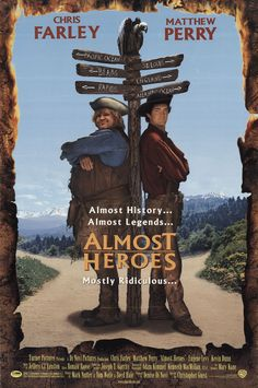 Almost Heroes (1998) was almost. Read our review of this and other camping movies at: cottagemixtape.com Streaming Movies, Hd Movies, Movies Online, Movie Tv, Christopher Guest, Chris Matthews, Chris Farley, Hero Poster, Matthew Perry