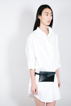 Leather Waist Pack Solid Mfg. Co – Parc Boutique