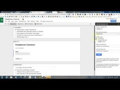 ▶ Check It Out Google From Add-On - YouTube  How to make a check-in check-out form for books and more in your classroom