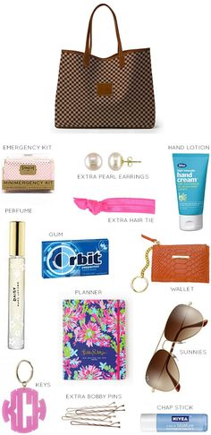the purse essentials | must haves for your purse | what to carry in your purse | purse must haves || a lonestar state of southern