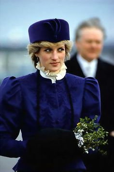 85 Diana with blue hat1 1 Where were you when Princess Diana died?