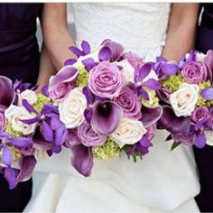 Purple bouquet <3