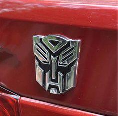 3D Logo Autobot Transformers Optimus Prime Emblem Badge Decal Car Sticker. For when I get a car....