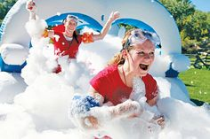 foam obstacle course - Google Search