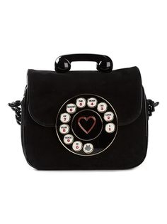 CHARLOTTE OLYMPIA Telephone Shoulder Bag                                                                                                                                                                                 Mais