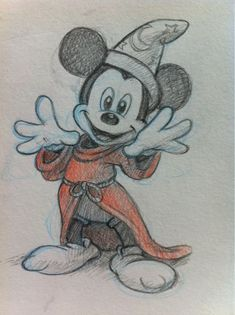 micky mouse/ would make a great tattoo