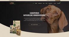 Totaalproject voor CanisPurus, dé leverancier voor natuurlijke hondenvoeding, supplementen & snacks. Grafisch ontwerp van alle labels en verpakkingen, productfotografie voor webshop, drukwerk & webshop. Labels, Snacks, Website, Movie Posters, Appetizers, Film Poster, Billboard, Treats, Film Posters