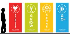 Banners for contemporary Church  | Labels: design portfolio , graphic design , motivation