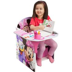 Disney Chair with Desk, Minnie #disney #baby