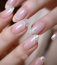 110 Cute Short Acrylic Nail Art Designs for Girls - HowBestMom - Part 83 Short acrylic nails can shine just as bright as long acrylic nails. we list 110 short nail art design ideas: short stilleto nails, short squoval nails, short matte nails and etc. Pink Nail Art, Acrylic Nail Art, Pink Nails, Glitter Nails, Gel Nails, Coffin Nails, Pink Glitter, Nail Polish, Gold Nail Art