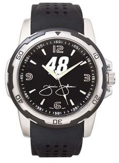 Jimmie Johnson #48 NASCAR Stealth Men's Sport Watch by Logo Art. $76.36