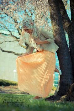 Beautiful <3 spring hijab style