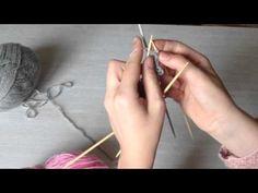 Langan värin vaihto, neulominen - YouTube