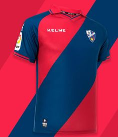 16e0daa1fb68 SD Huesca 18 19 Home Men Soccer Jersey Personalized Name and Number