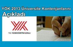 Yök 2013 Üniversite Kontenjanlarını Açıkladı http://portal24.tk/2013/06/yok-2013-universite-kontenjanlarini-acikladi.html