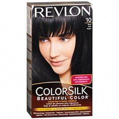 Revlon Colorsilk Beautiful Color Permanent Color, Black 10 #BakingSodaCarpetShampoo Shampoo For Dry Scalp, Baby Shampoo, Ammonia Free Hair Color, Revlon Colorsilk, Baking Soda On Carpet, Baking Soda Shampoo, Colour Images, Hairstyles Haircuts, Dreads
