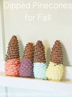 Adorable Fall crafts.