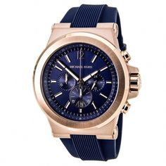 c777eef87c35 Michael Kors Men s  Dylan  Rose-tone Ion Plated Stainless Steel Watch