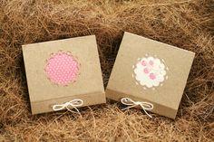 Baby Girl Shower Favor Notepads Set of 2 Pink by MAKINGtheNESTofIT, $4.25