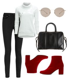 """""""Untitled #211"""" by alisya97 ❤ liked on Polyvore featuring Yves Saint Laurent, Alo Yoga, Givenchy and Gucci"""