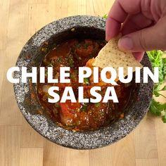 Mexican Salsa Recipes, Spicy Recipes, Fall Recipes, Mexican Desserts, Cooking Recipes, Cooking Tips, Tacos And Salsa, Spicy Salsa, Chicken Dorito Casserole Recipe